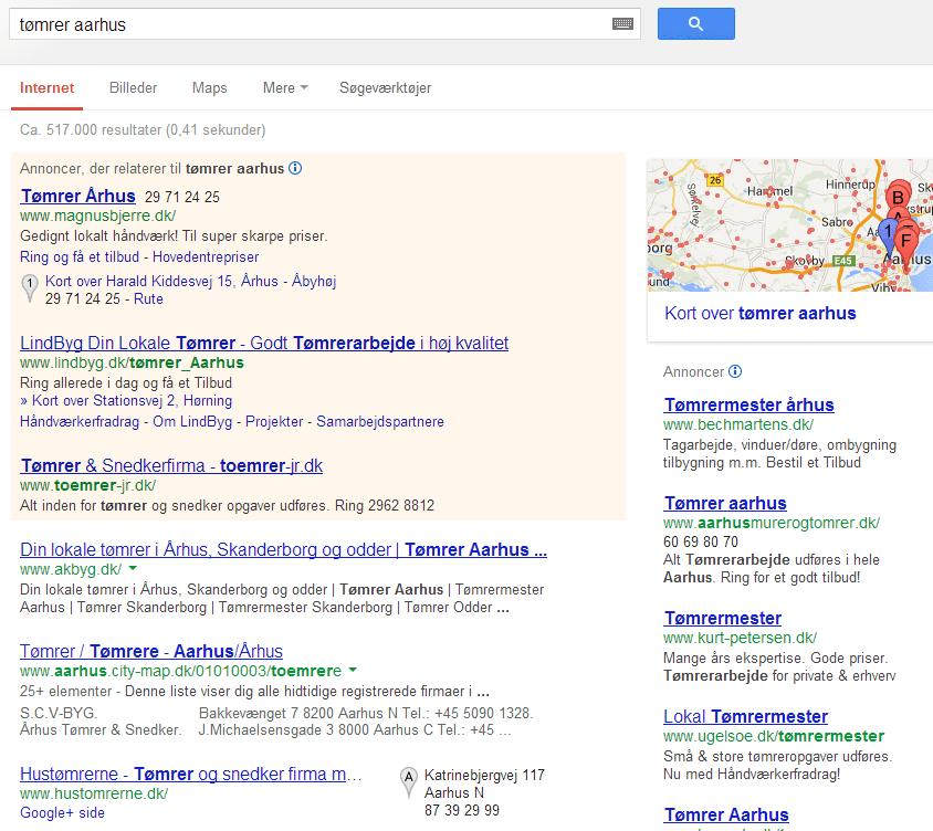 Google er under angreb. For mange annoncer og tjenester
