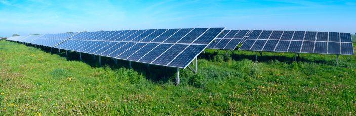 Danmarks hidtil største solcellepark står ved Kalundborg