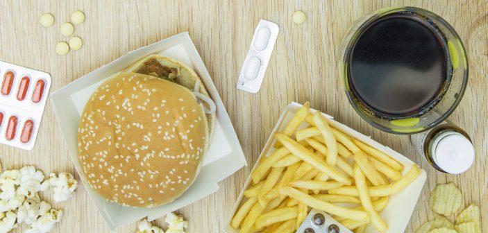 Burger og piller er en fast del af nytårskuren for mange