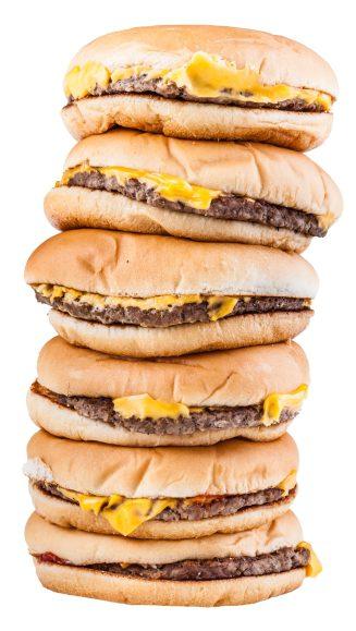 Danskernes bestiller rigtig mange burgere nytårsdag
