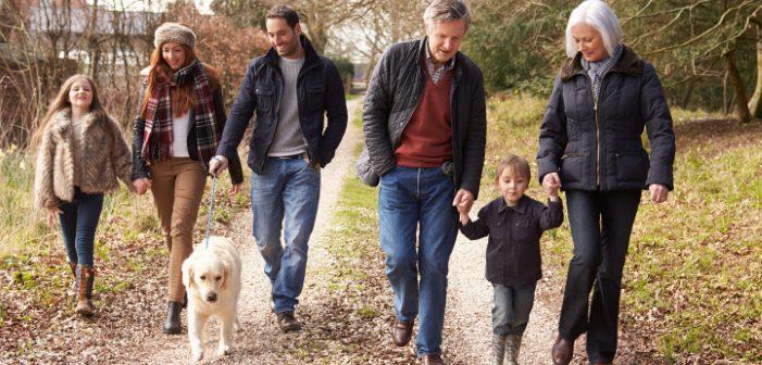 Danskerne er blandt andet glade for at gå en tur nytårsdag
