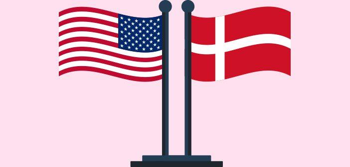 Demokraterne i Danmark og USA