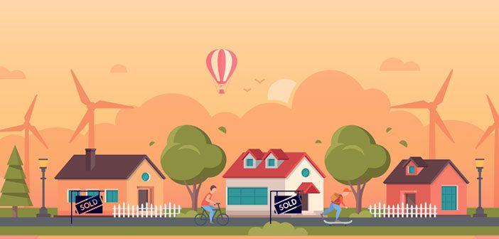 Salg af boliger i mindre byer