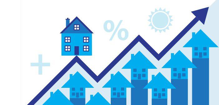 Huspriserne stiger